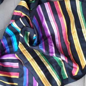 Oscar de la Renta 100% silk scarf